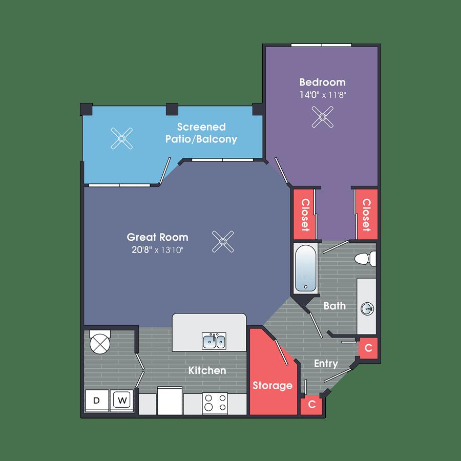 One Bedroom Apartment Rentals